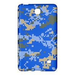 Oceanic Camouflage Blue Grey Map Samsung Galaxy Tab 4 (7 ) Hardshell Case  by Mariart