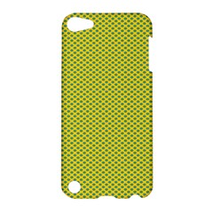 Polka Dot Green Yellow Apple Ipod Touch 5 Hardshell Case by Mariart