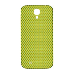 Polka Dot Green Yellow Samsung Galaxy S4 I9500/i9505  Hardshell Back Case by Mariart