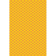 Polka Dot Orange Yellow 5 5  X 8 5  Notebooks by Mariart