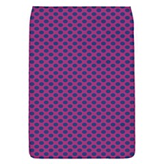 Polka Dot Purple Blue Flap Covers (s)  by Mariart