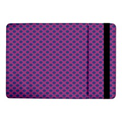 Polka Dot Purple Blue Samsung Galaxy Tab Pro 10 1  Flip Case by Mariart