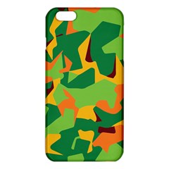 Initial Camouflage Green Orange Yellow Iphone 6 Plus/6s Plus Tpu Case by Mariart