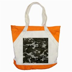Initial Camouflage Grey Accent Tote Bag by Mariart
