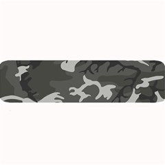 Initial Camouflage Grey Large Bar Mats by Mariart