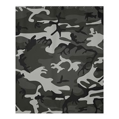 Initial Camouflage Grey Shower Curtain 60  X 72  (medium)  by Mariart