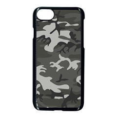 Initial Camouflage Grey Apple Iphone 7 Seamless Case (black)