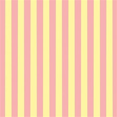 Pink Yellow Stripes Line Magic Photo Cubes by Mariart