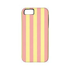 Pink Yellow Stripes Line Apple Iphone 5 Classic Hardshell Case (pc+silicone) by Mariart