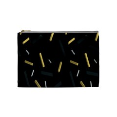 Rectangle Chalks Cosmetic Bag (medium)  by Mariart