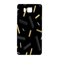 Rectangle Chalks Samsung Galaxy Alpha Hardshell Back Case by Mariart