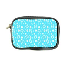 Record Blue Dj Music Note Club Coin Purse by Mariart