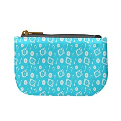 Record Blue Dj Music Note Club Mini Coin Purses by Mariart