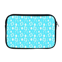 Record Blue Dj Music Note Club Apple Macbook Pro 17  Zipper Case by Mariart