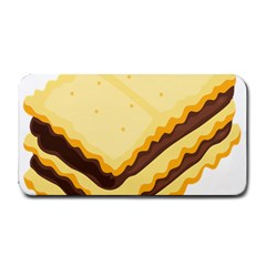 Sandwich Biscuit Chocolate Bread Medium Bar Mats by Mariart
