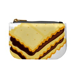 Sandwich Biscuit Chocolate Bread Mini Coin Purses by Mariart