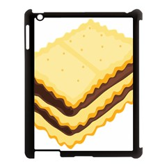 Sandwich Biscuit Chocolate Bread Apple Ipad 3/4 Case (black) by Mariart