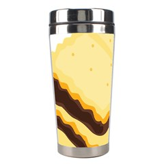 Sandwich Biscuit Chocolate Bread Stainless Steel Travel Tumblers by Mariart