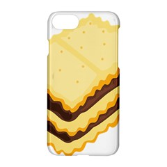 Sandwich Biscuit Chocolate Bread Apple Iphone 7 Hardshell Case by Mariart
