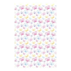 Pretty Colorful Butterflies Shower Curtain 48  X 72  (small)  by tarastyle