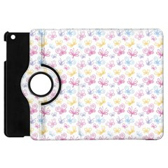 Pretty Colorful Butterflies Apple Ipad Mini Flip 360 Case