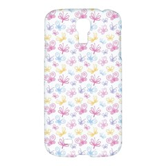 Pretty Colorful Butterflies Samsung Galaxy S4 I9500/i9505 Hardshell Case by tarastyle
