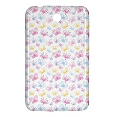 Pretty Colorful Butterflies Samsung Galaxy Tab 3 (7 ) P3200 Hardshell Case  by tarastyle