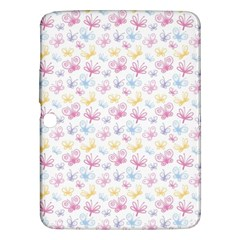Pretty Colorful Butterflies Samsung Galaxy Tab 3 (10 1 ) P5200 Hardshell Case  by tarastyle
