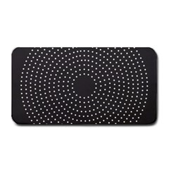 Round Stitch Scrapbook Circle Stitching Template Polka Dot Medium Bar Mats by Mariart