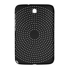 Round Stitch Scrapbook Circle Stitching Template Polka Dot Samsung Galaxy Note 8 0 N5100 Hardshell Case  by Mariart