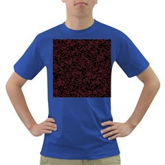 Random Red Black Dark T Shirt by Mariart