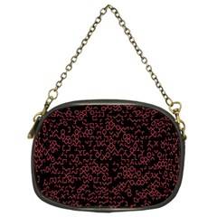 Random Red Black Chain Purses (two Sides)  by Mariart