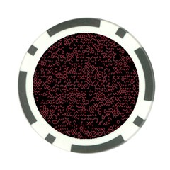 Random Red Black Poker Chip Card Guard (10 Pack)
