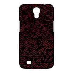 Random Red Black Samsung Galaxy Mega 6 3  I9200 Hardshell Case