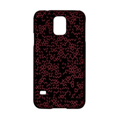 Random Red Black Samsung Galaxy S5 Hardshell Case  by Mariart