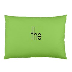 Sign Green The Pillow Case by Mariart
