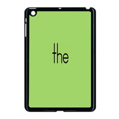 Sign Green The Apple Ipad Mini Case (black) by Mariart
