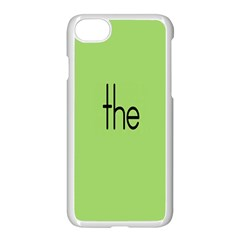 Sign Green The Apple Iphone 7 Seamless Case (white)