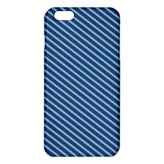 Striped  Line Blue Iphone 6 Plus/6s Plus Tpu Case by Mariart