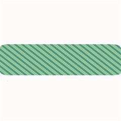 Striped Green Large Bar Mats by Mariart