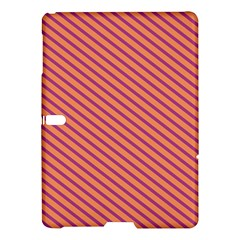 Striped Purple Orange Samsung Galaxy Tab S (10 5 ) Hardshell Case  by Mariart