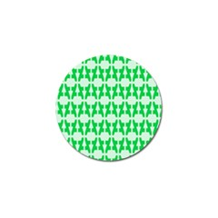 Sign Green A Golf Ball Marker by Mariart