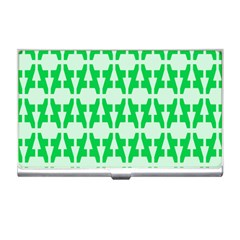 Sign Green A Business Card Holders by Mariart