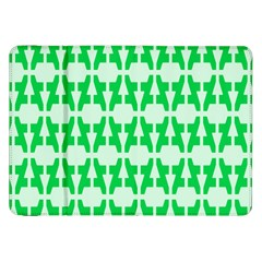 Sign Green A Samsung Galaxy Tab 8 9  P7300 Flip Case by Mariart