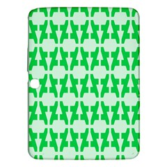 Sign Green A Samsung Galaxy Tab 3 (10 1 ) P5200 Hardshell Case  by Mariart