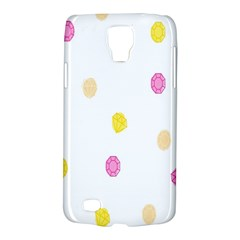 Stone Diamond Yellow Pink Brown Galaxy S4 Active by Mariart