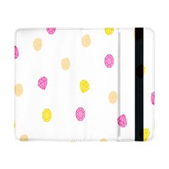Stone Diamond Yellow Pink Brown Samsung Galaxy Tab Pro 8 4  Flip Case by Mariart