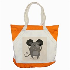 Tooth Bigstock Cute Cartoon Mouse Grey Animals Pest Accent Tote Bag