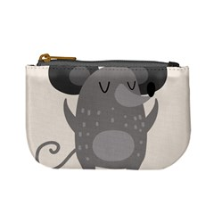 Tooth Bigstock Cute Cartoon Mouse Grey Animals Pest Mini Coin Purses