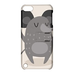 Tooth Bigstock Cute Cartoon Mouse Grey Animals Pest Apple Ipod Touch 5 Hardshell Case With Stand by Mariart